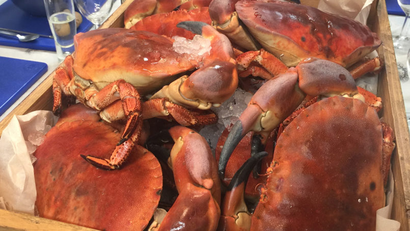 What a Crab-Cracking Service!