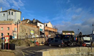Hollywood rolls into Lyme Regis