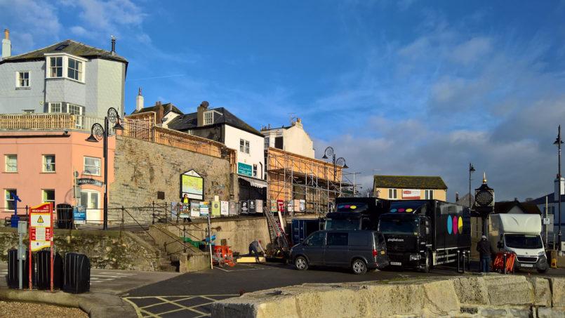 Hollywood rolls into Lyme Regis
